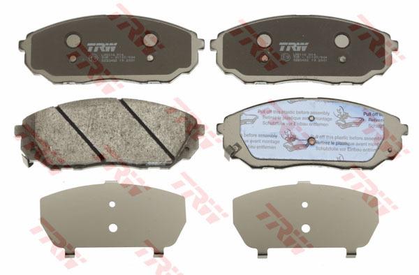 Колодки тормозные дисковые TRW/Lucas GDB3452GDB3452