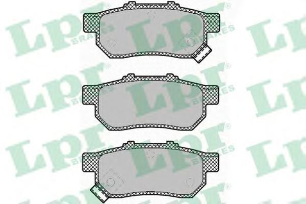 Колодки тормозные задниеLPR / AP 05P142505P1425