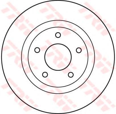 Диск тормозной TRW/Lucas DF4932 комплект 2 штDF4932