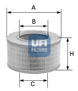 Фильтр воздушный UFI 30806003080600