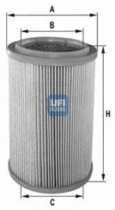 Фильтр воздушный UFI 27355002735500