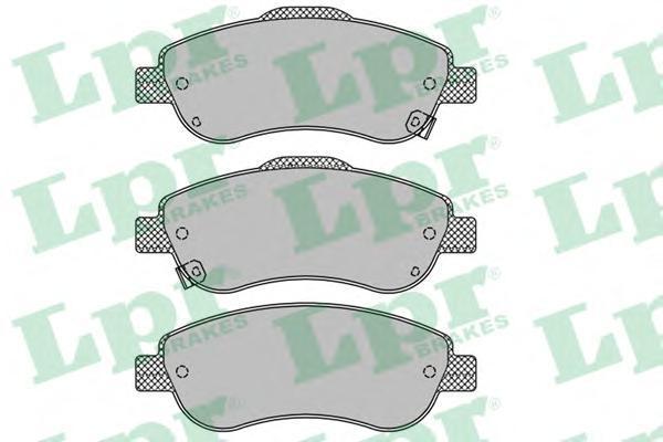 Колодки тормозные передние LPR / AP 05P145605P1456