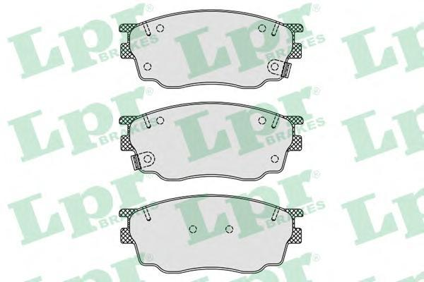 Колодки тормозные LPR / AP 05P87705P877