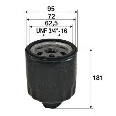 Фильтр масляный Valeo 586056586056