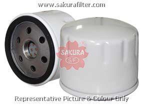 Фильтр масляный Sakura C25180C25180