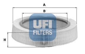 Фильтр воздушный UFI 30974003097400