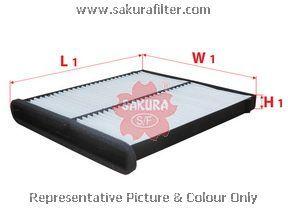 Фильтр салона Sakura CA17160CA17160