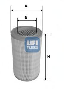 Фильтр воздушный UFI 27630002763000