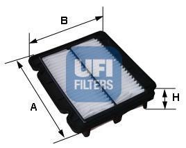 Фильтр воздушный UFI 30279003027900