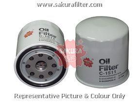 Фильтр масляный Sakura C1511C1511