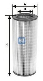 Фильтр воздушный UFI 27603002760300