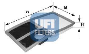 Фильтр воздушный UFI 30342003034200