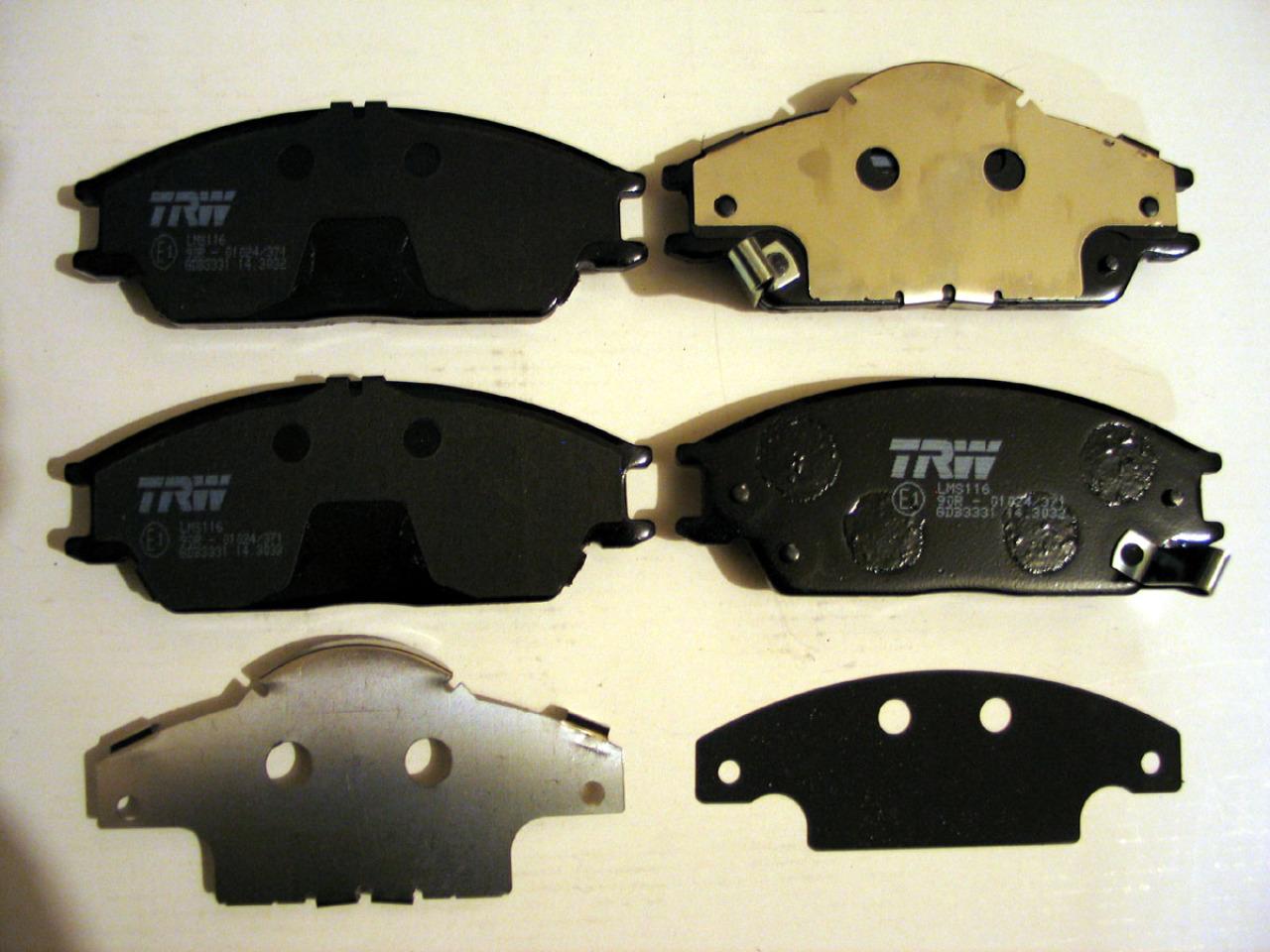 Колодки тормозные дисковые TRW/Lucas GDB3331GDB3331