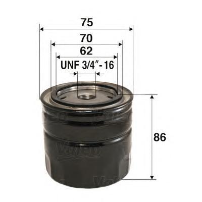 Фильтр масляный Valeo 586023586023