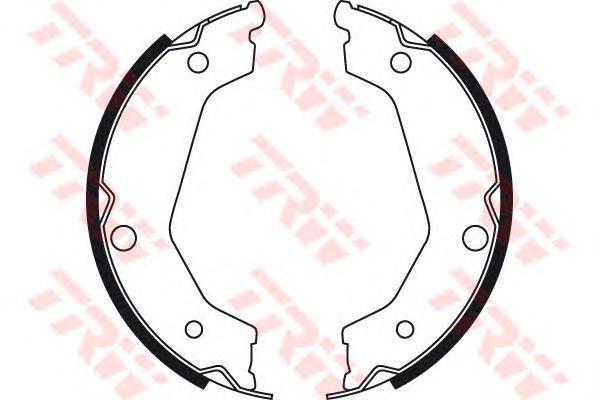 Колодки тормозные барабанные TRW/Lucas GS8722GS8722