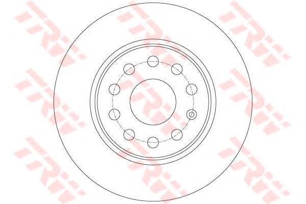 Диск тормозной задний TRW/Lucas DF7911 комплект 2 штDF7911