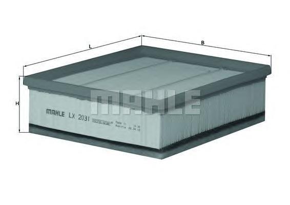 Фильтр воздушный Mahle LX2031LX2031