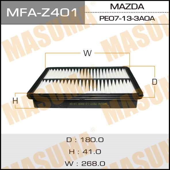 Фильтр воздушный Masuma MFA-Z401MFA-Z401