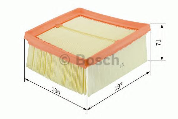 Фильтр воздушный Bosch. F026400135F026400135