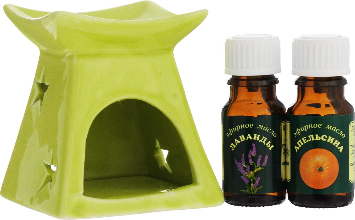 Набор эфирных масел Elfarma Подарочный, цвет салатовый1096_салатовыйНабор эфирных масел Elfarma Подарочный, цвет салатовый