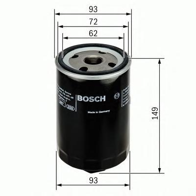 Фильтр масляный Bosch F026407004F026407004