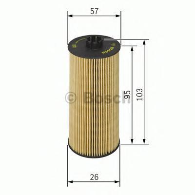 Фильтр масляный Bosch F026407006F026407006