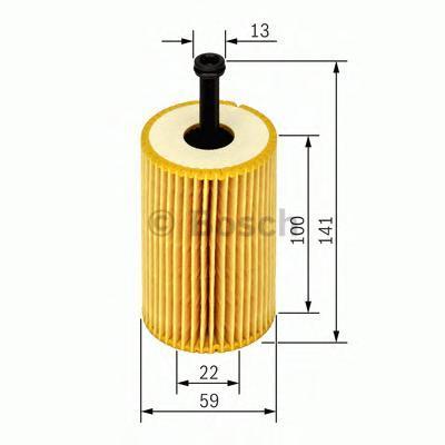Фильтр масляный Bosch 1457429193