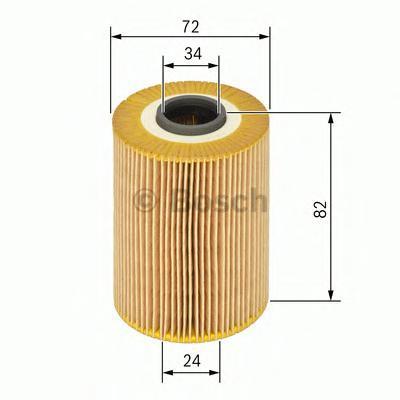все цены на Фильтр масляный Bosch 1457429197 онлайн