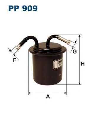 Фильтр топливный Filtron PP909PP909