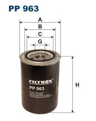 Фильтр топливный Filtron. PP963PP963
