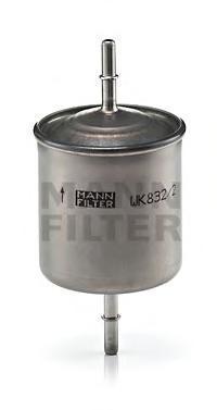 Фильтр топливный Mann-Filter WK832/2WK832/2
