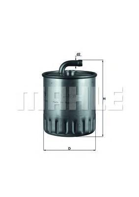 Фильтр топливный Mahle KL179KL179