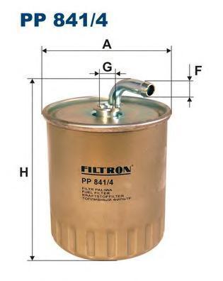 Фильтр топливный Filtron PP841/4PP841/4