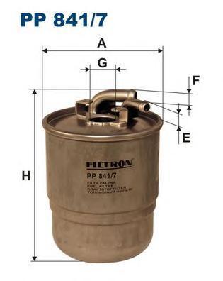 Фильтр топливный Filtron PP841/7PP841/7