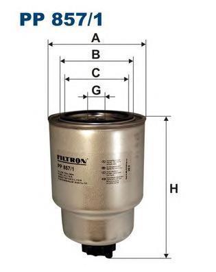 Фильтр топливный Filtron PP857/1PP857/1