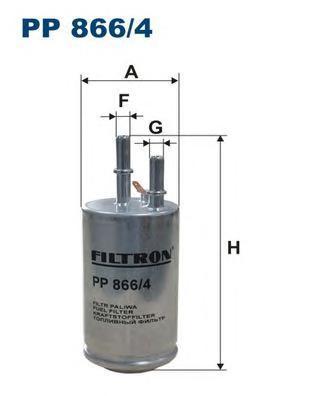 Фильтр топливный Filtron PP866/4PP866/4