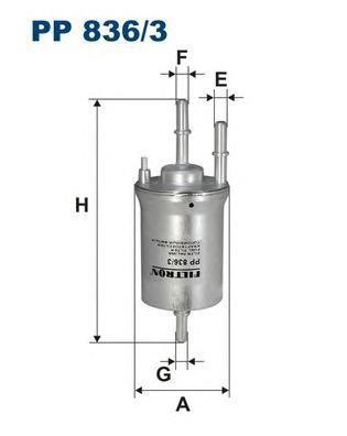 Фильтр топливный Filtron PP836/3PP836/3