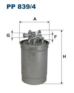 Фильтр топливный Filtron PP839/4PP839/4