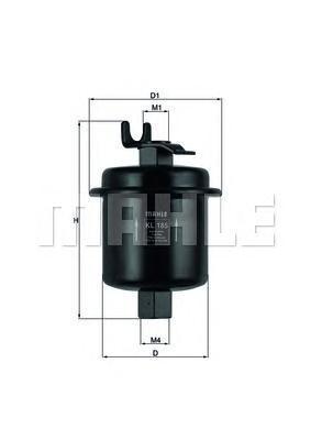Фильтр топливный Mahle KL185KL185