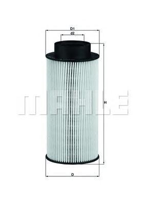 Фильтр топливный Mahle KX182/1DKX182/1D