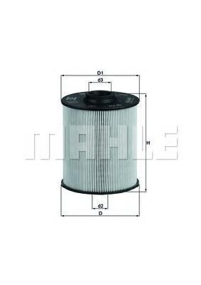 Фильтр топливный Mahle KX70DKX70D