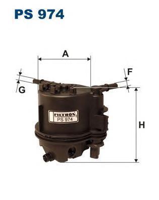 Фильтр топливный Filtron PS974PS974