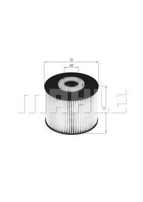 Фильтр топливный Mahle KX331DKX331D