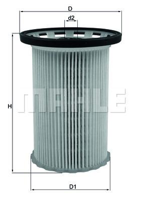 Фильтр топливный Mahle KX341KX341