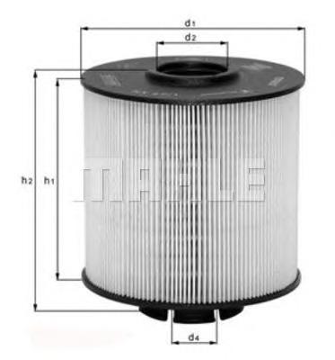 Фильтр топливный Mahle KX67/2DKX67/2D