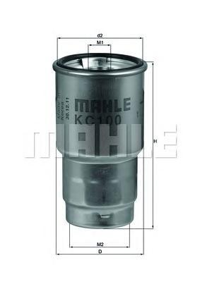 Фильтр топливный Mahle KC100DKC100D
