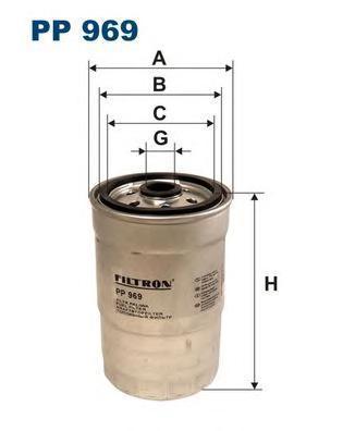 Фильтр топливный Filtron. PP969PP969