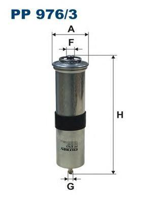 Фильтр топливный Filtron PP976/3PP976/3