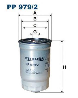 цена на Фильтр топливный Filtron PP979/2
