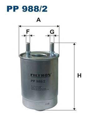 Фильтр топливный Filtron PP988/2PP988/2